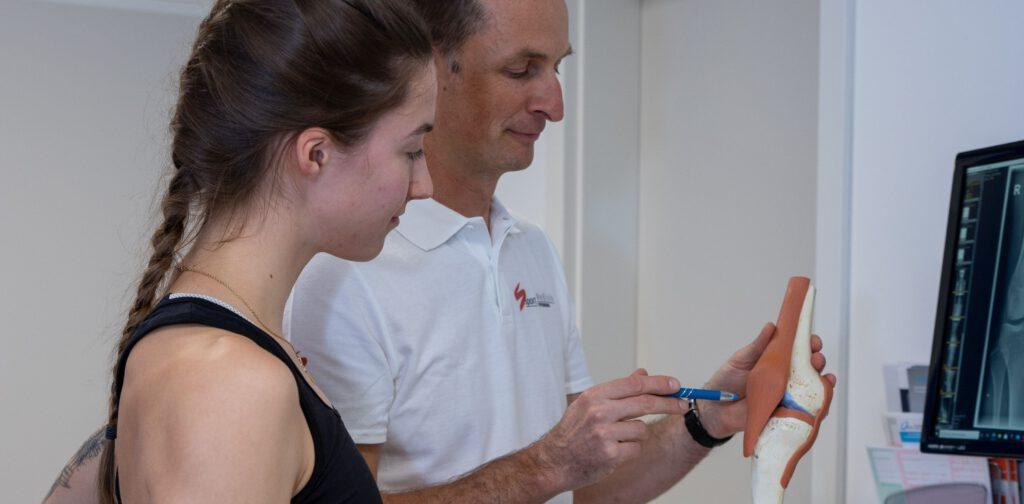 Besprechung Sportorthopädie in der Sportmedizin Offenburg