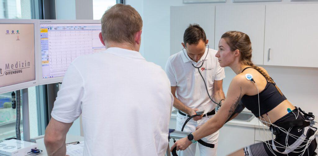 Sportmedizinische Untersuchung Radfahren in der Sportmedizin Offenburg