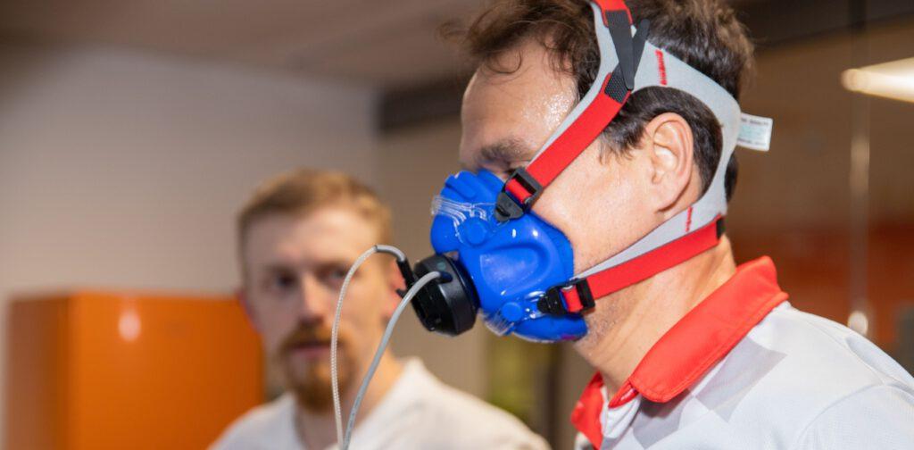 Leistungsdiagnostik Atemluft in der Sportmedizin Offenburg